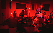 Bob Log III performs at Second Story Nightclub in Bloomington, Indiana.