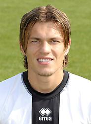 Football - soccer: itialian division, 2006/2007, Portrait Parma, Zlatko Dedic .copyright: SPORTIDA / Grazia Neri / Claudio Villa.