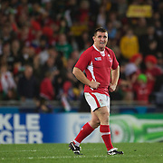 Huw Bennett, Wales, in action during the Australia V Wales Bronze Final match at the IRB Rugby World Cup tournament, Auckland, New Zealand. 21st October 2011. Photo Tim Clayton...