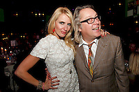 Nancy and Vic Reeves, the 2011 MITs Award. Held at the Grosvenor Hotel London in aid of Nordoff Robbins and the BRIT School. Monday, Nov.7, 2011