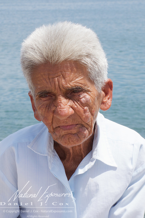 An elderly woman in Cojimar, Cuba.