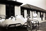 sanitarium like hospital England 1920s 1930s
