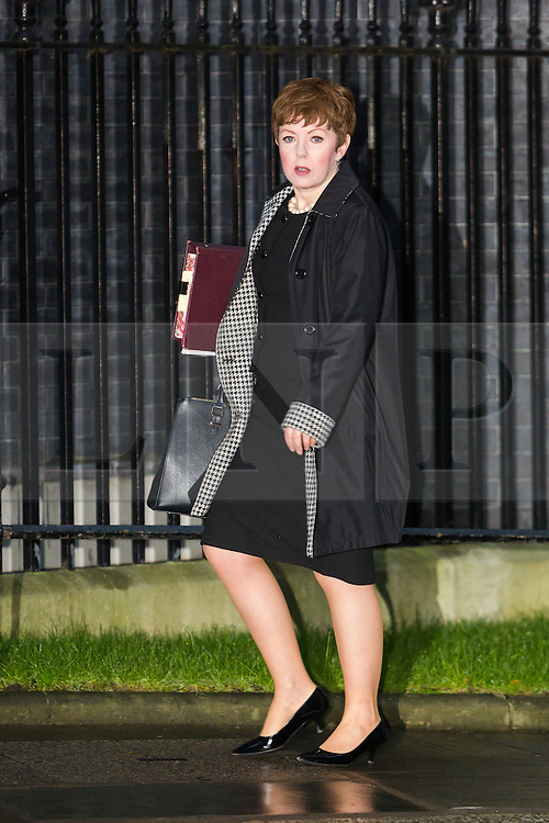 © Licensed to London News Pictures. 15/12/2015. London, UK. BARONESS STOWELL arrives for a cabinet meeting in Downing Street. Photo credit : Vickie Flores/LNP