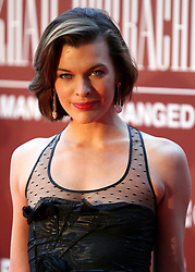 © under license to London News Pictures. 30/03/11. Milla Jovovich at Gorby80 Event - 80th Birthday of Gorbachev. Photo credit should read Anton Phatianov/LNP