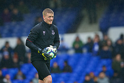 LIVERPOOL, ENGLAND - Sunday, March 3, 2019: Everton's goalkeeper Jordan Pickford during the pre-match warm-up before the FA Premier League match between Everton FC and Liverpool FC, the 233rd Merseyside Derby, at Goodison Park. (Pic by Laura Malkin/Propaganda)