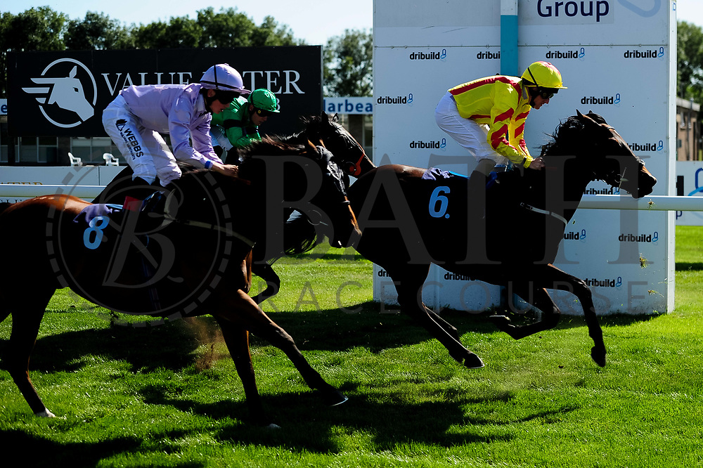 Jaganory ridden by Angus Villiers and trained by Christopher Mason in the Sds Intellistorm Handicap race. Molly Blake ridden by Liam Keniry and trained by Clive Cox in the Sds Intellistorm Handicap race.  - Ryan Hiscott/JMP - 14/09/2019 - PR - Bath Racecourse - Bath, England - Race Meeting at Bath Racecourse