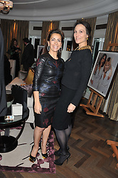 Left to right, KAREN RUIMY and LADY NUTTAL at The Great Initiative event in association with jewellers Boodles held at The Corinthia Hotel, London on 6th November 2012.