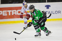 30.01.2015, Hala Tivoli, Ljubljana, SLO, EBEL, HDD Telemach Olimpija Ljubljana vs EC Red Bull Salzburg, 43. Runde, in picture Ales Music (HDD Telemach Olimpija, #16) during the Erste Bank Icehockey League 43. Round between HDD Telemach Olimpija Ljubljana and EC Red Bull Salzburg at the Hala Tivoli, Ljubljana, Slovenia on 2015/01/30. Photo by Morgan Kristan / Sportida