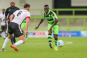 Forest Green Rovers Drissa Traore (4) passes the ball during the Vanarama National League match between Forest Green Rovers and Bromley FC at the New Lawn, Forest Green, United Kingdom on 17 September 2016. Photo by Shane Healey.