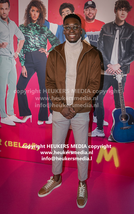 2019, September 20. Pathe ArenA, Amsterdam, the Netherlands. Defano Holwijn at the premiere of Misfit 2.