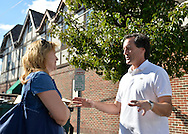 Bellmore, New York, U.S. 22nd September 2013.  N.Y. State Senator CHARLES J. FUSCHILLO, JR. (Republican - Merrick), running for re-election in November, makes a campaign visit at the 27th Annual Bellmore Festival, featuring family fun with exhibits and attractions in a 25 square block area, with over 120,000 people expected to attend over the weekend.