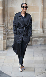 © Licensed to London News Pictures. 27/09/2016.  Alesha Dixon arrives for a Service of Thanksgiving for the Life and Work of Sir Terry Wogan at Westminster Abbey. Veteran broadcaster Sir Terry Wogan died in January 2016. The Irish star had a long and successful career at the BBC, including stints on  radio and TV. London, UK. Photo credit: Peter Macdiarmid/LNP