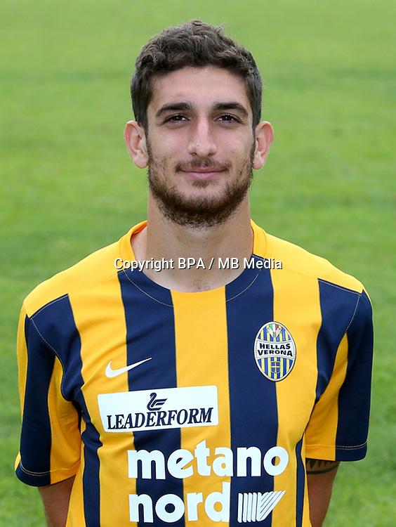 Italian League Serie A -2015-2016 / <br /> ( Hellas Verona FC ) - <br /> Matteo Bianchetti