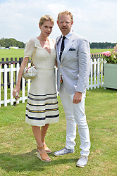 Alistair Guy and Barbora Bediova at Cartier Queen's Cup Polo, Guard's Polo Club, Berkshire, England. 18 June 2017.<br /> Photo by Dominic O'Neill/SilverHub 0203 174 1069 sales@silverhubmedia.com