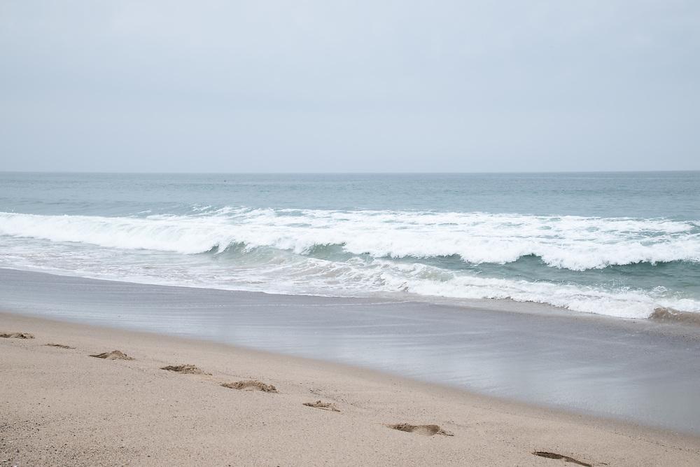 The calm Santa Monica Bay. Ca, 4.7.16