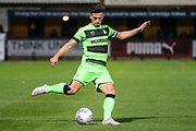 Forest Green Rovers Liam Shephard(2) during the EFL Sky Bet League 2 match between Cambridge United and Forest Green Rovers at the Cambs Glass Stadium, Cambridge, England on 2 October 2018.
