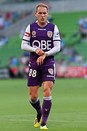 MELBOURNE, VIC - JANUARY 19: Perth Glory midfielder Neil Kilkenny (88) walks for a corner kick at the Hyundai A-League Round 14 soccer match between Melbourne City FC and Perth Glory at AAMI Park in VIC, Australia 19th January 2019. Image by (Speed Media/Icon Sportswire)