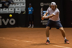 March 1, 2019 - SãO Paulo, Brazil - SÃO PAULO, SP - 01.03.2019: BRASIL OPEN 2019 ATP 250 - Brazil Open 2019 - ATP 250 - Argentines Marco TRUNGELLITI and Guido PELLA will play one of the semi-finals this afternoon on March 01, 2019. (Credit Image: © Van Campos/Fotoarena via ZUMA Press)