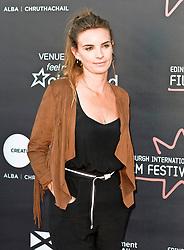 Edinburgh International Film Festival, Wednesday, 27th June 2018<br /> <br /> OBEY (UK PREMIERE)<br /> <br /> Pictured:  Producer Emily Jones<br /> <br /> (c) Alex Todd   Edinburgh Elite media