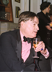 MR HAROLD BROOKS-BAKER, director of Burke's Peerage, at a reception in London on 19th March 1998.MGF 3 MO
