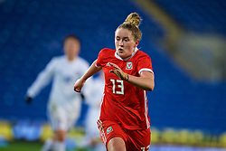 CARDIFF, WALES - Friday, November 24, 2017: Wales' Rachel Rowe during the FIFA Women's World Cup 2019 Qualifying Round Group 1 match between Wales and Kazakhstan at the Cardiff City Stadium. (Pic by David Rawcliffe/Propaganda)