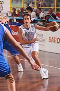 DESCRIZIONE : Cagliari Qualificazione Eurobasket 2009 Serbia Italia <br /> GIOCATORE : Massimo Bulleri <br /> SQUADRA : Nazionale Italia Uomini <br /> EVENTO : Raduno Collegiale Nazionale Maschile <br /> GARA : Serbia Italia Serbia Italy <br /> DATA : 20/08/2008 <br /> CATEGORIA : Penetrazione <br /> SPORT : Pallacanestro <br /> AUTORE : Agenzia Ciamillo-Castoria/S.Silvestri <br /> Galleria : Fip Nazionali 2008 <br /> Fotonotizia : Cagliari Qualificazione Eurobasket 2009 Serbia Italia <br /> Predefinita :