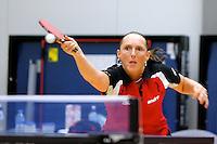 OSS - Tafeltennis, SKF - FVT, Promotiewedstrijd naar eredivisie 11-12-2011, Brenda Vonk