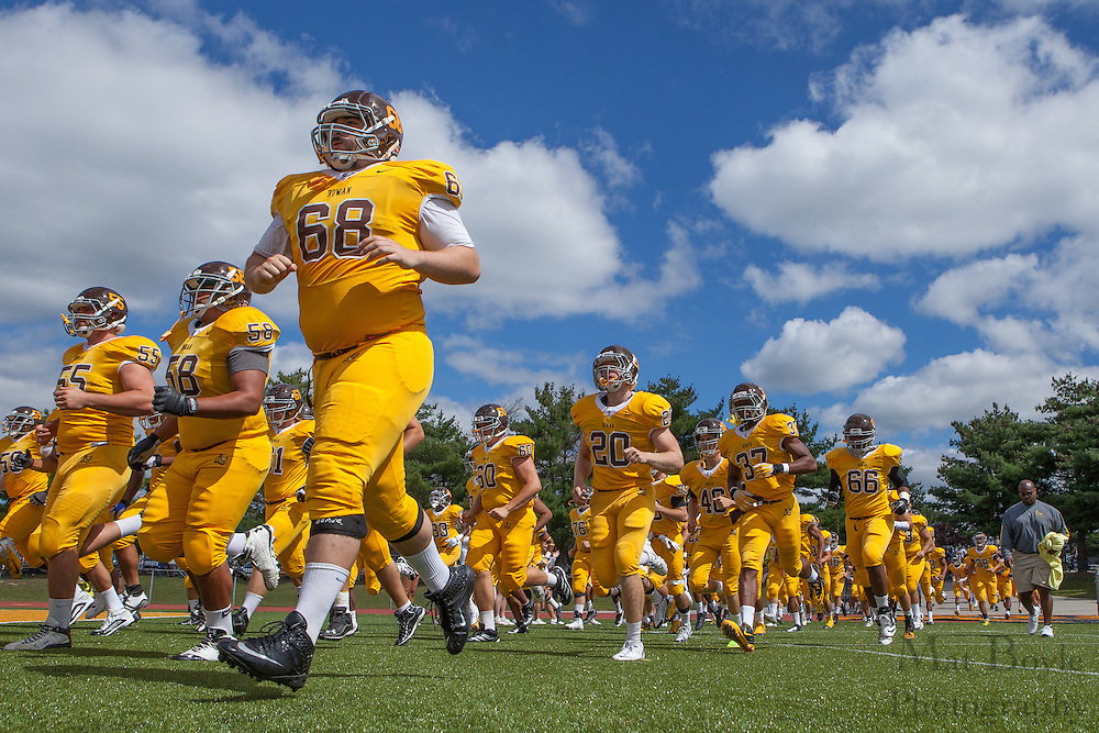 Rowan University Football vs Framingham State University at Richard Wacker Stadium in Glassboro, NJ on Saturday September 14, 2013. (photo / Mat Boyle)