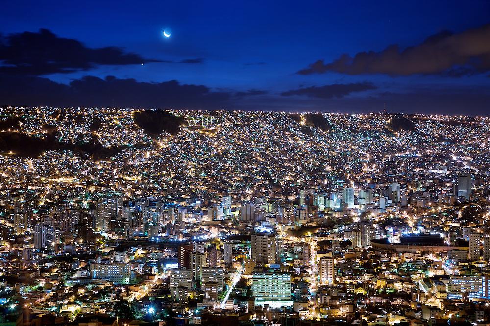Panora?mica - La Paz, Bolivia