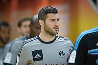 Andre Pierre Gignac - 22.03.2015 - Lens / Marseille - 30eme journee de Ligue 1 <br /> Photo : Andre Ferreira / Icon Sport