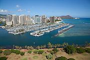 Ala Wai Marina, Waikiki, Honolulu, Oahu, Hawaii