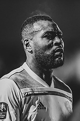 Wes Morgan of Leicester City - Mandatory by-line: Ryan Hiscott/JMP - 06/01/2019 - FOOTBALL - Rodney Parade - Newport, Wales - Newport County v Leicester City - Emirates FA Cup third round proper