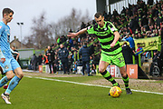 Forest Green Rovers Haydn Hollis(32) during the EFL Sky Bet League 2 match between Forest Green Rovers and Coventry City at the New Lawn, Forest Green, United Kingdom on 3 February 2018. Picture by Shane Healey.