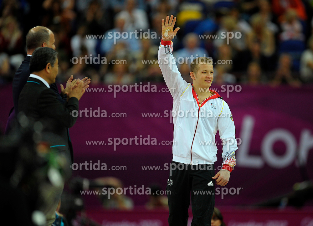 Olympic Games London 2012, Gymnastics.Fabian HambueŸchen  (GER).© pixathlon