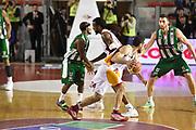 DESCRIZIONE : Roma Lega A 2014-15 <br /> Acea Virtus Roma - Sidigas Avellino <br /> GIOCATORE : Ndudi Ebi Rok Stipcevic<br /> CATEGORIA : palleggio blocco controcampo<br /> SQUADRA : Sidigas Avellino <br /> EVENTO : Campionato Lega A 2014-2015 <br /> GARA : Acea Virtus Roma - Sidigas Avellino <br /> DATA : 04/04/2015<br /> SPORT : Pallacanestro <br /> AUTORE : Agenzia Ciamillo-Castoria/GiulioCiamillo<br /> Galleria : Lega Basket A 2014-2015  <br /> Fotonotizia : Roma Lega A 2014-15 Acea Virtus Roma - Sidigas Avellino