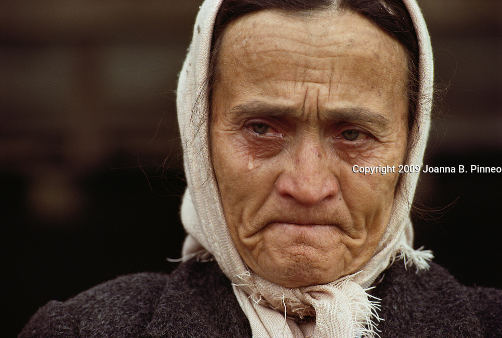 "Bosnia. ""I saw my family killed when I was 12. It is happening all over again."""