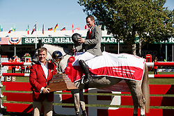 Weishaupt Philipp, GER, LB Convall<br /> Spruce Meadows Masters - Calgary 2017<br /> © Hippo Foto - Dirk Caremans<br /> 10/09/2017, Weishaupt Philipp, GER, Keith Creel,<br />