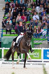 Charlotte Dujardin, (GBR), Valegro - Grand Prix Special Dressage - Alltech FEI World Equestrian Games™ 2014 - Normandy, France.<br /> © Hippo Foto Team - Leanjo de Koster<br /> 25/06/14