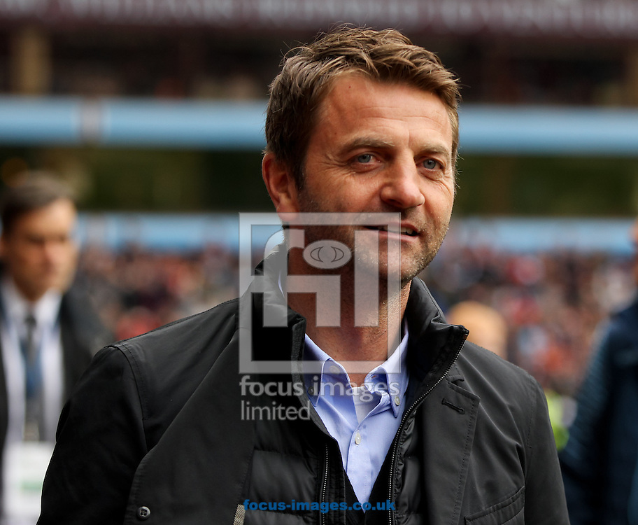 Aston Villa manager Tim Sherwood before the Barclays Premier League match at Villa Park, Birmingham<br /> Picture by Tom Smith/Focus Images Ltd 07545141164<br /> 09/05/2015