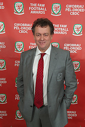 CARDIFF, WALES - Monday, October 8, 2012: Guests arrive for the FAW Player of the Year Awards Dinner at the National Museum Cardiff. Tim Lewis. (Pic by David Rawcliffe/Propaganda)