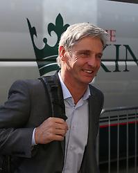 Charlton Athletic Head Coach, Jose Riga arrives at The Den - Photo mandatory by-line: Robin White/JMP - Tel: Mobile: 07966 386802 15/03/2014 - SPORT - FOOTBALL - The Den - Millwall - Millwall v Charlton Athletic - Sky Bet Championship