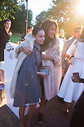 ALAA AL SHROOGI; SHARIFA AL SUDARI;  The Serpentine Contempories party. Kensington Gdns. 16 September 2013