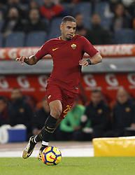 October 28, 2017 - Rome, Italy - Roma s Bruno Peres in action during the Serie A soccer match between Roma and Bologna at the Olympic stadium. (Credit Image: © Riccardo De Luca/Pacific Press via ZUMA Wire)
