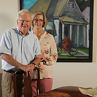 B.B. Hosch and his wife, Patty,