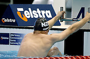 Cameron Gibson (NZ) 200m backstroke<br />2006 Telstra Commonwealth Games<br />Swimming Trials,  January 30th -  4th Feb.<br />Melbourne Sports & Aquatics Centre <br />© Sport the library/Jeff Crow