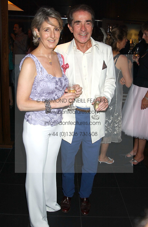 The EARL & COUNTESS ALEXANDER OF TUNIS at a party to celebrate the OBE for Basil Charles - The famous Mustique bar owner held at Pengelley's, Sloane Street, London on 22nd June 2005.<br /><br />NON EXCLUSIVE - WORLD RIGHTS