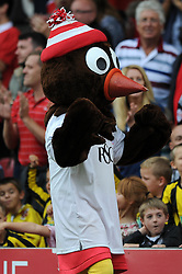 Bristol City mascot, Scrumpy - Photo mandatory by-line: Dougie Allward/JMP - Mobile: 07966 386802 - 27/09/2014 - SPORT - Football - Bristol - Ashton Gate - Bristol City v MK Dons - Sky Bet League One