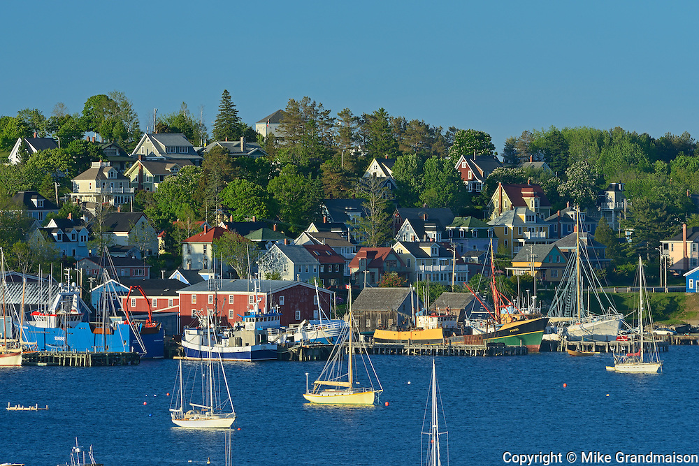 Port town in Lunenburg County. UNESCO World Heritage Site. <br /> Lunenberg<br /> Nova Scotia<br /> Canada