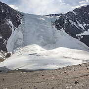 Seuss Glacier during the decent from the Nussbaum Riegel