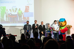 Showdown team during Slovenian Disabled Sports personality of the year 2019 event, on January 21, 2020 in Austria Trend Hotel, Ljubljana, Slovenia. Photo by Vid Ponikvar / Sportida